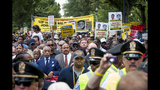 Scenes from the March on Washington commemoration - (13/25)