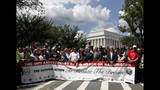 Scenes from the March on Washington commemoration - (22/25)