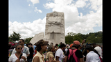 Scenes from the March on Washington commemoration - (1/25)
