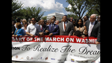 Scenes from the March on Washington commemoration - (23/25)