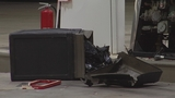 Photos: Beer truck backs into gas pump - (3/7)