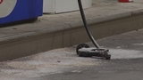 Photos: Beer truck backs into gas pump - (1/7)