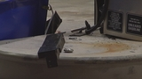 Photos: Beer truck backs into gas pump - (7/7)