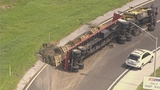 Photos: Tractor-trailer flips on SR-417 - (6/9)