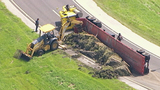 Photos: Tractor-trailer flips on SR-417 - (4/9)
