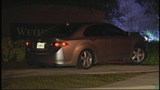Photos: Man crashes car into subdivision sign - (1/8)
