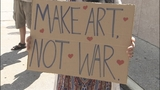 Photos: 'No War with Syria' rally in Orlando - (2/12)