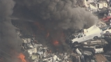 Photos: Recycling center fire - (7/11)