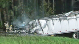 Photos: Brevard fiery I-95 wreck - (5/8)