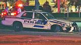 Photos: Police cruisers collide in Orlando - (3/7)