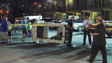 Photos: Car crashes into resort security booth - (4/7)