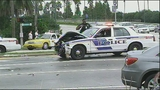 Photos: Orlando officer injured in crash - (4/8)
