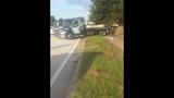 Photos: Car slams through house fence - (10/15)
