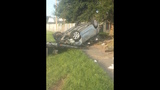 Photos: Car slams through house fence - (6/15)