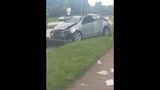 Photos: Car slams through house fence - (5/15)