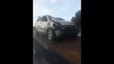 Photos: Car slams through house fence - (1/15)