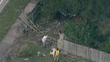 Photos: Car slams through house fence - (8/15)