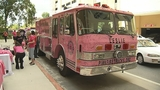 Photos: Pink fire trucks roll out for cancer… - (5/10)
