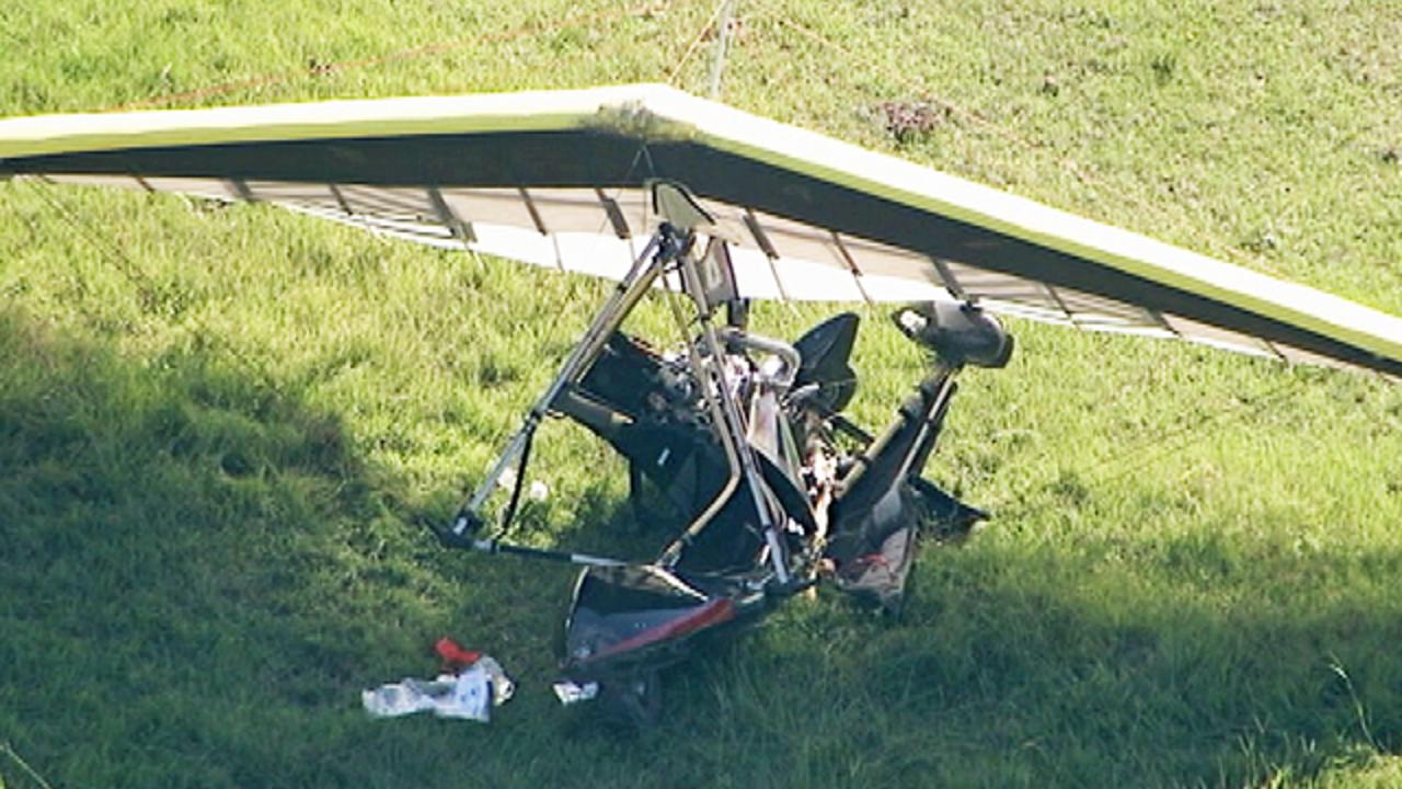 Man injured in Eustis powered hang glider crash   WFTV