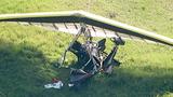 Powered hang glider crash_3953957
