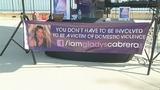Photos: Domestic violence awareness event - (3/8)