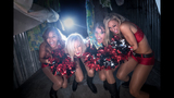 Bucs Cheerleaders at Howl-O-Scream - (1/9)
