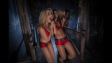 Bucs Cheerleaders at Howl-O-Scream - (4/9)