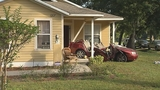 Photos: Car crashes into porch of home - (13/13)