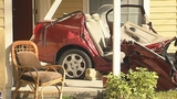 Photos: Car crashes into porch of home - (9/13)
