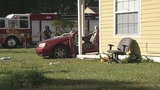 Photos: Car crashes into porch of home - (6/13)