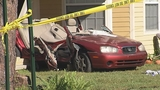 Photos: Car crashes into porch of home - (8/13)