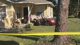 Photos: Car crashes into porch of home - (10/13)