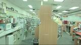 Photos: Pharmacy burglar falls through… - (8/10)