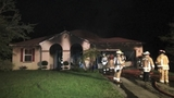 Photos: Fire forces family from Palm Bay home - (11/12)