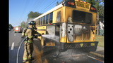 Photos: Marion County School Bus Fire - (2/7)