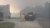 Photos: Brush fire threatens homes along I-95 - (20/20)
