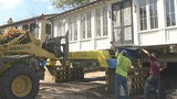 Photos: Capen house moved - (15/22)