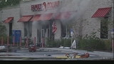 Photos: Crews battle Family Dollar fire - (10/11)