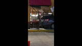 Photos: Car crashes into Popeyes restaurant - (12/18)