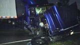 Photos: Car crashes into tractor-trailer - (1/5)