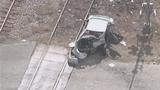 Photos: Train hits car in Taft - (1/10)