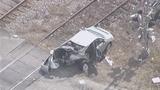 Photos: Train hits car in Taft - (6/10)