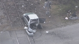 Photos: Train hits car in Taft - (9/10)