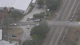 Photos: Train hits car in Taft - (2/10)