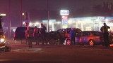 Photos: Car fleeing police causes multi-vehicle crash - (5/7)