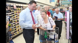 Photos: Tom Terry visits Palm Bay Walgreens - (7/25)