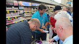 Photos: Tom Terry visits Palm Bay Walgreens - (5/25)