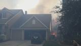 Photos: Avalon Park brush fire - (4/9)