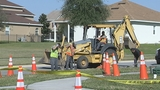 Photos: Clermont sinkhole closes street - (11/20)