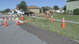 Photos: Clermont sinkhole closes street - (19/20)